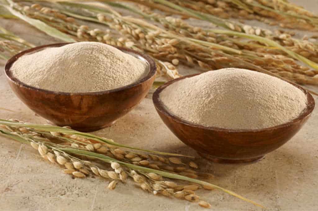tumbukan beras