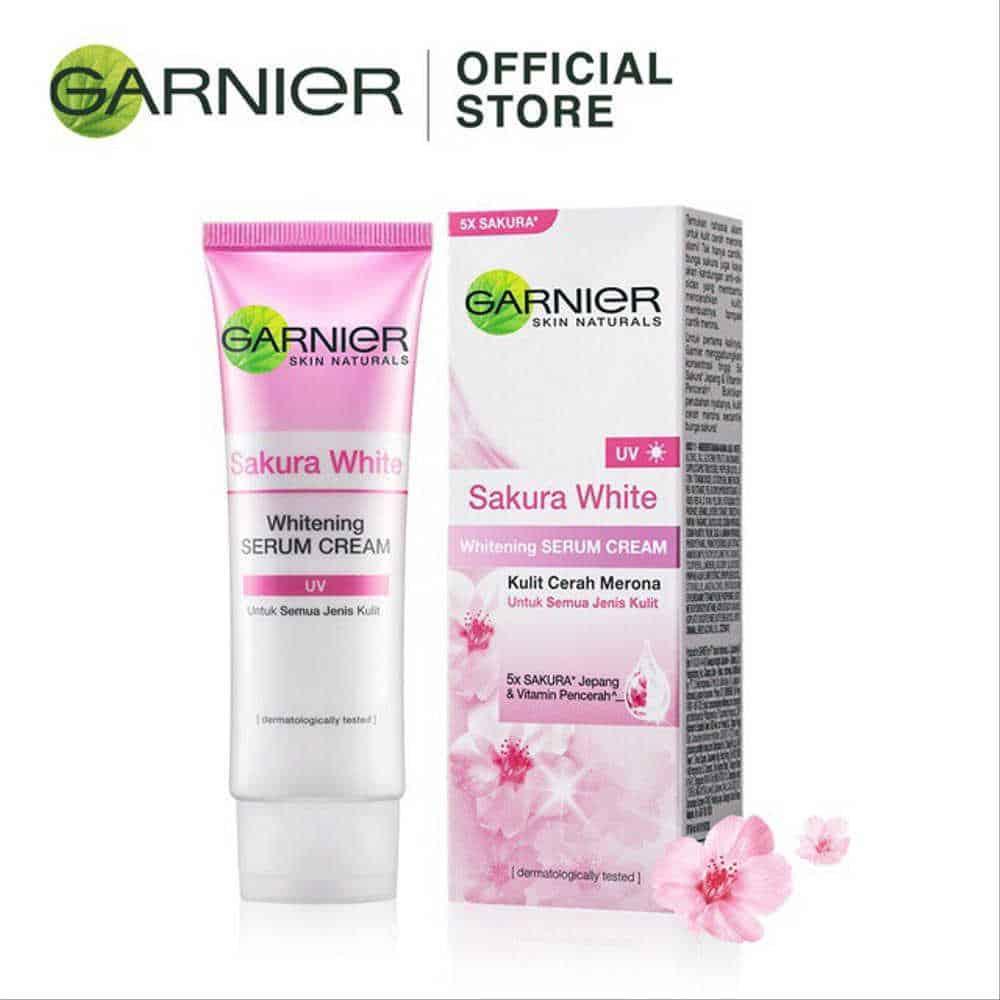 Garnier Sakura White Pinkish Radiance Whitening Cream