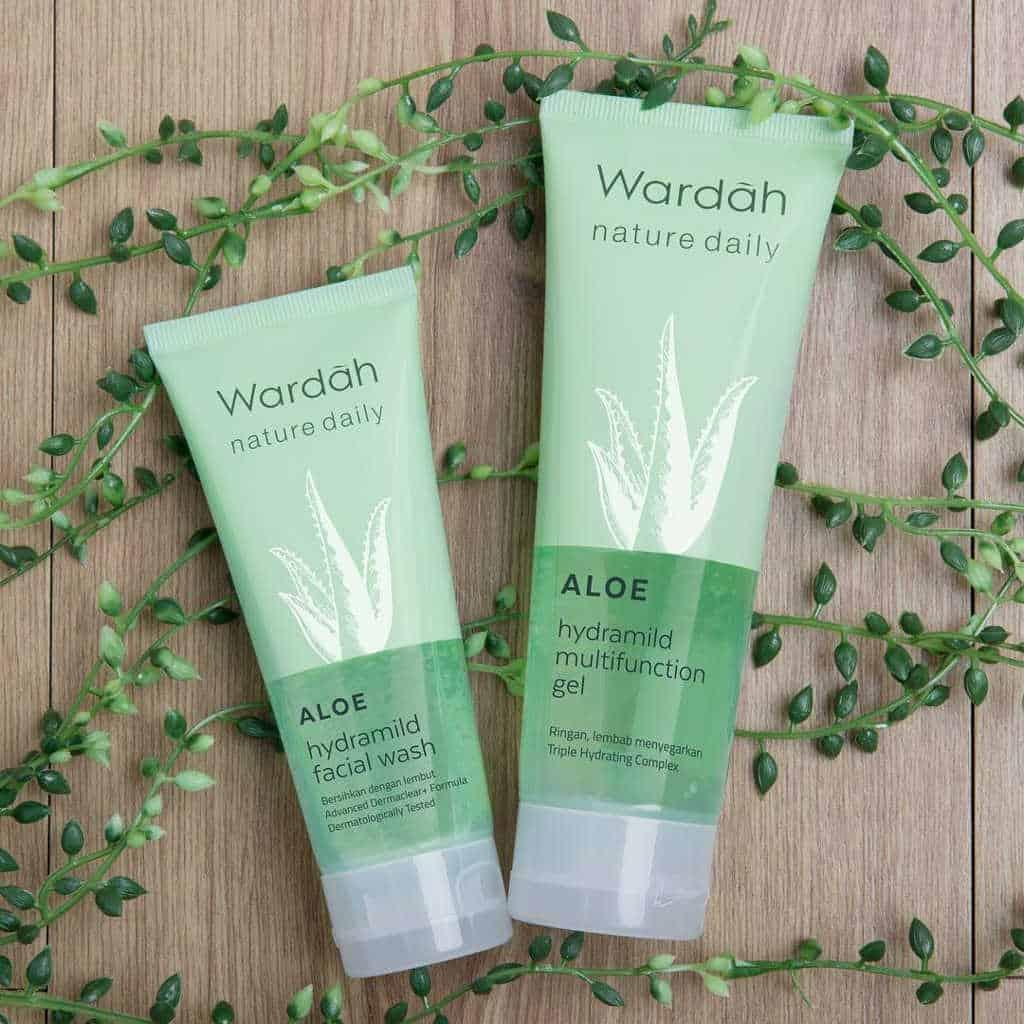 Wardah Nature Daily Aloe Hydramild Multifunction Gel