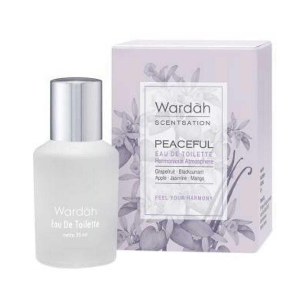 parfum Wardah Scentsation Peaceful Eau De Toilette