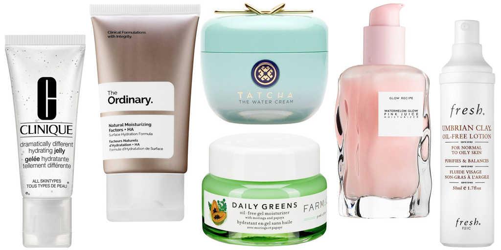 Berbagai jenis moisturizer