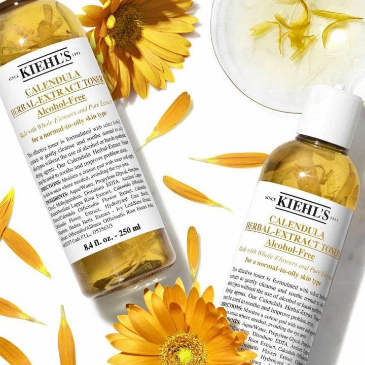 Kiehl's Calendula Herbal Extract Alcohol-Free Toner - Toner Untuk Kulit Sensitif