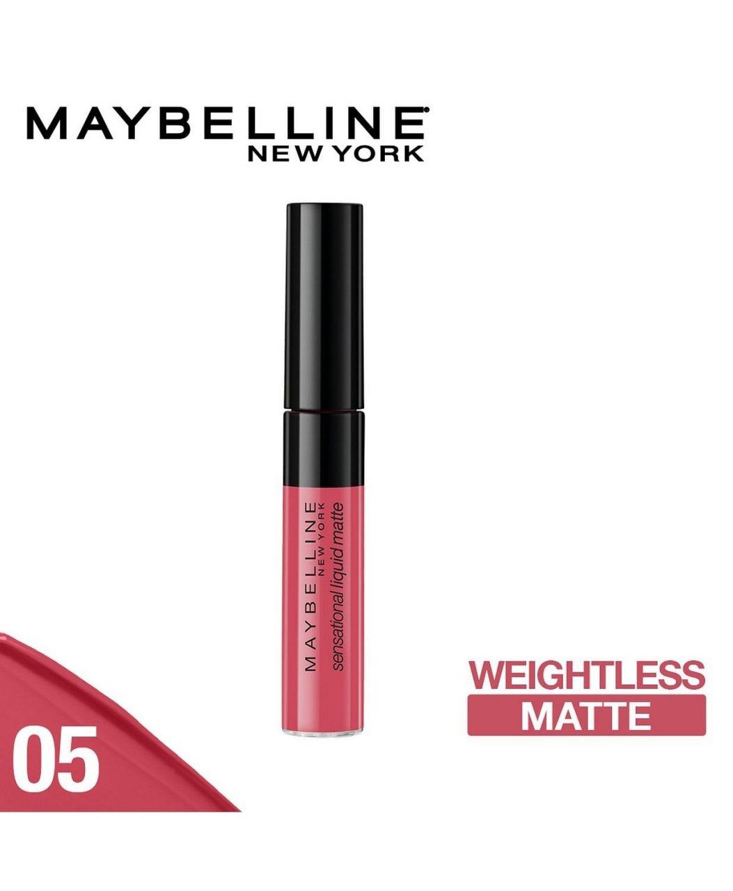 Maybelline Sensational Liquid Matte 05 Keep It Mellow