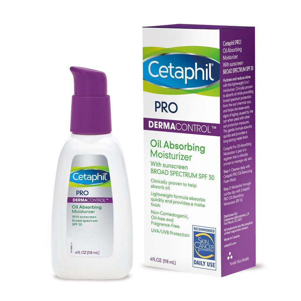 Cetaphil Pro Derma Control Oil Absorbing Moisturizer Spf 30 118 Ml