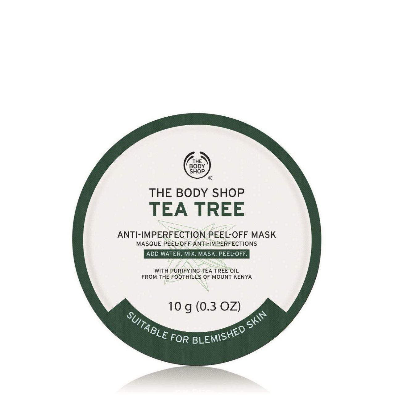 The Body Shop Tea Tree Peel Off Mask 10g