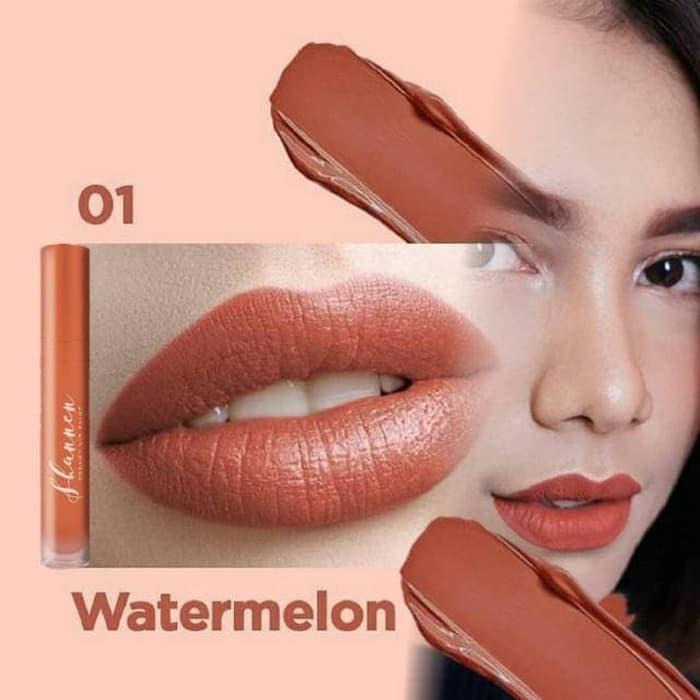 Lipstik Shannen No 1 Watermelon